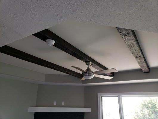 Box beam ceiling