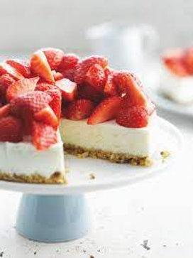 Cheescake - Belgische aardbeien