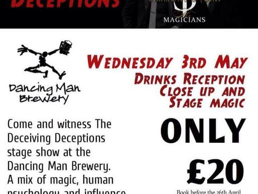 A magic show in Southampton!