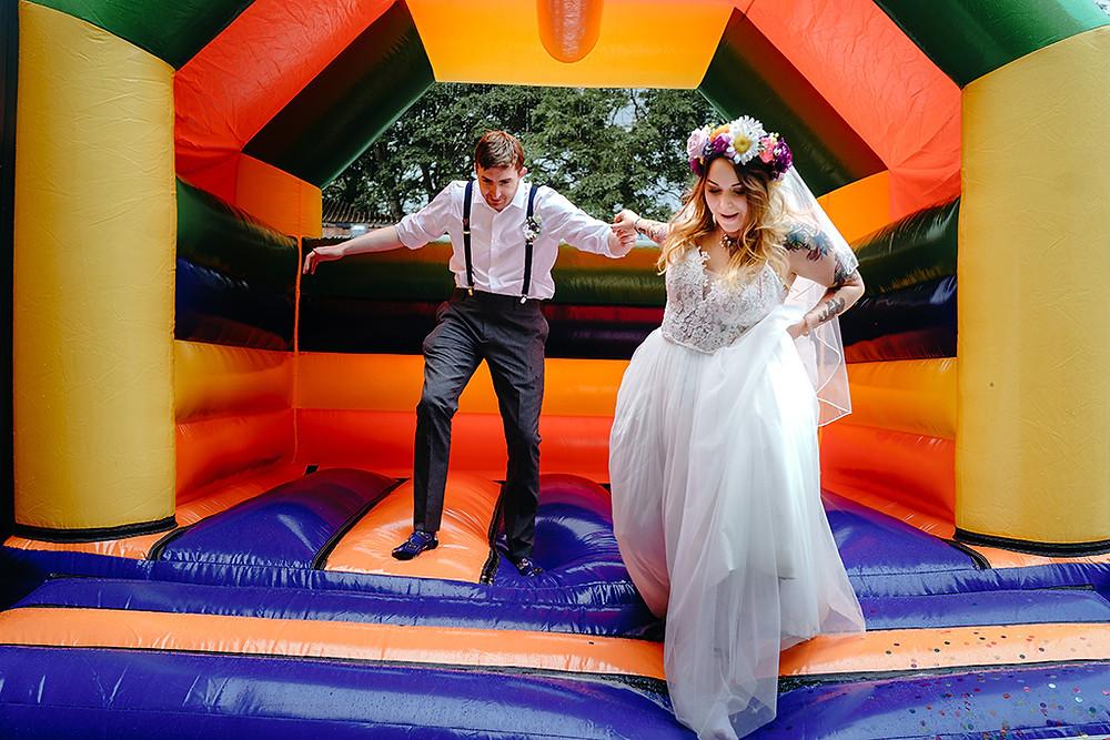 wedding-bouncy-castle