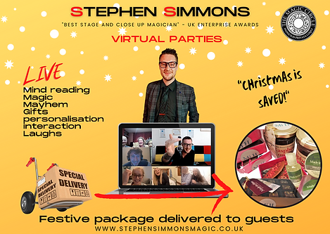 Virtual Christmas Party Stephen Simmons