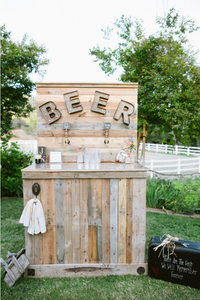 wedding-beer-station