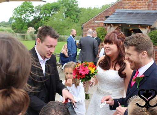 A wedding in Sopley mill