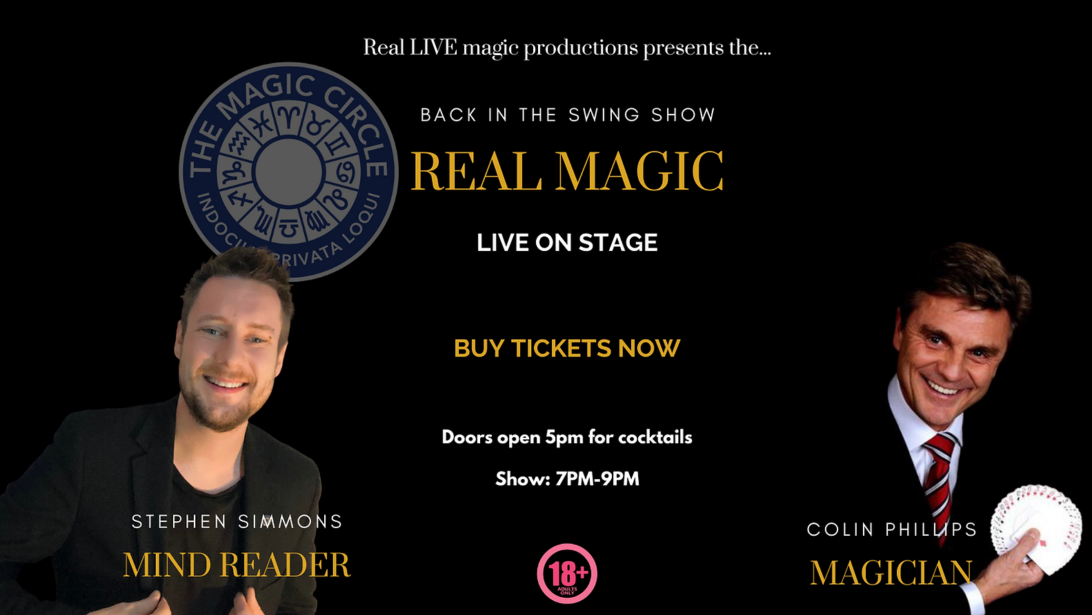 Magic show Southampton