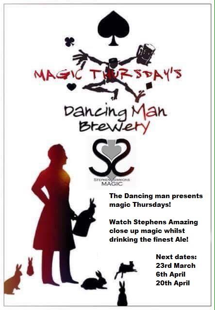 Dancing man poster
