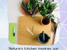Nature's Kitchen Inspires Creative Writing.