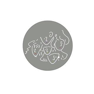 円形バージョンの、 ショップカードデザイン。.jpg