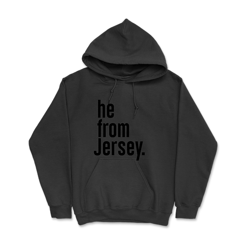 He from Jersey Hoodies