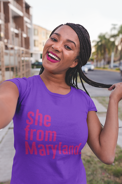 She from Maryland Tees