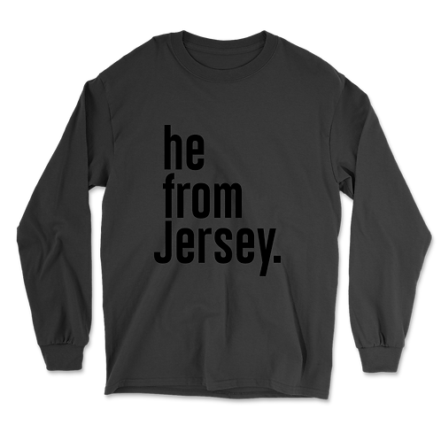 He from Jersey Long Sleeves