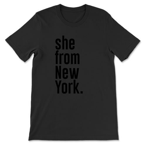 She from New York Tees