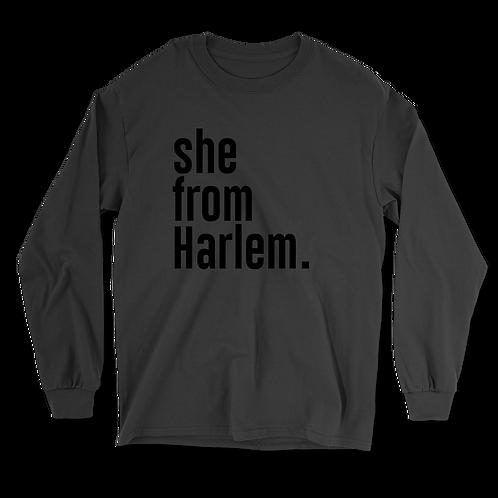 She from Harlem Long Sleeves