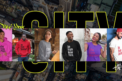 Rep Your City Hoodies