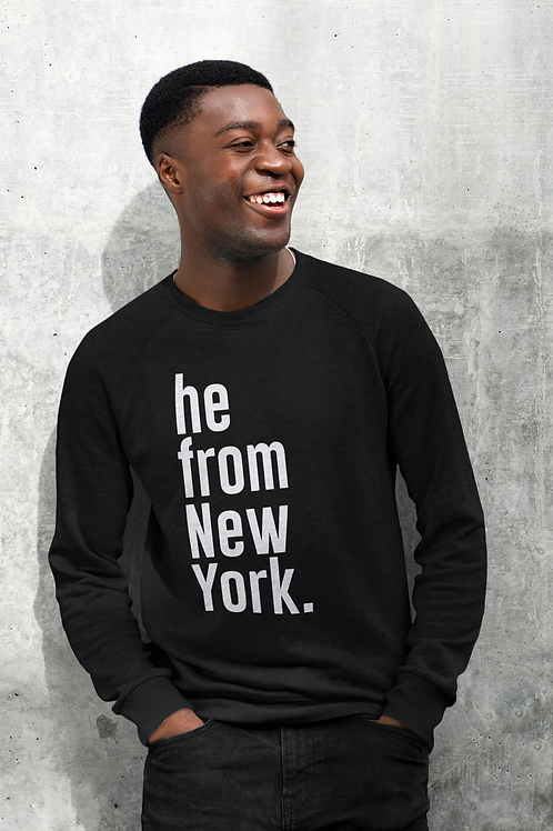 He from New York Long Sleeves