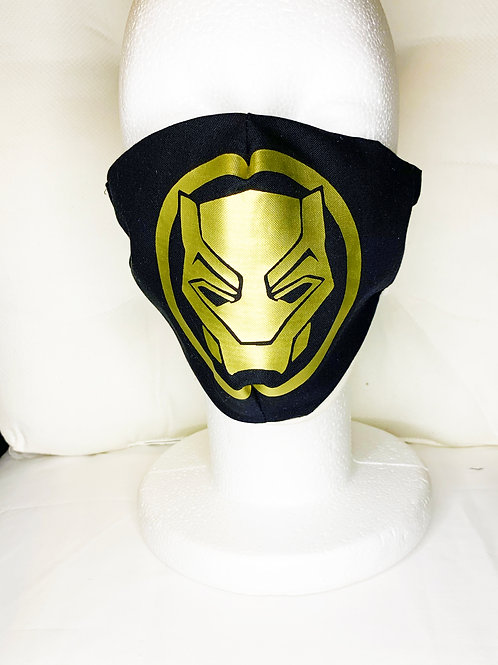 Black Panther & Black Mamba Masks