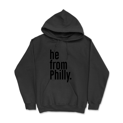 He from Philly Hoodies
