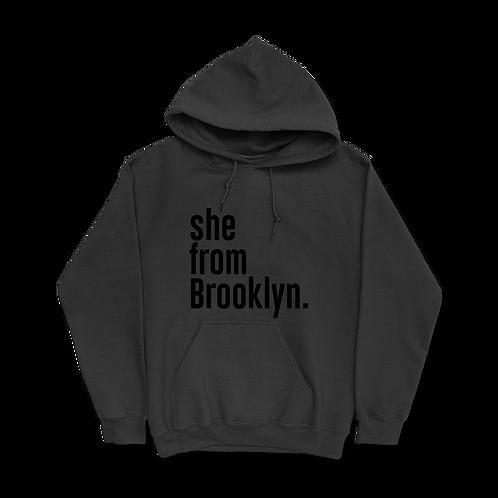 She from Brooklyn Hoodies