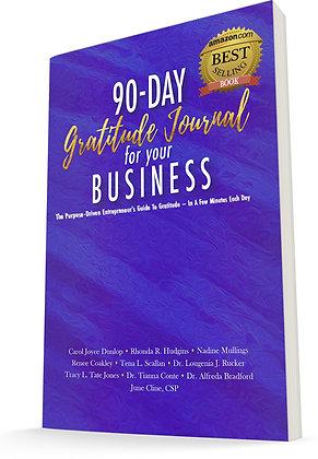 90-Day Gratitude Journal