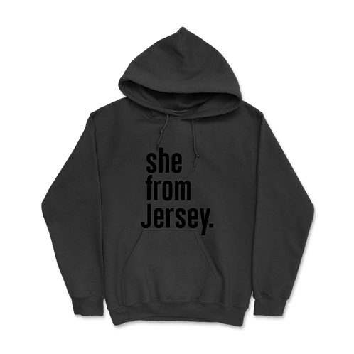 She from Jersey Hoodies