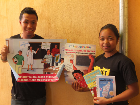 New resource website on menstrual health and hygiene in Madagascar