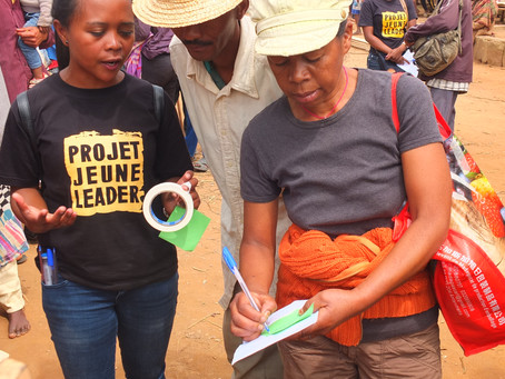 Activating new rural community with event on gender-based violence