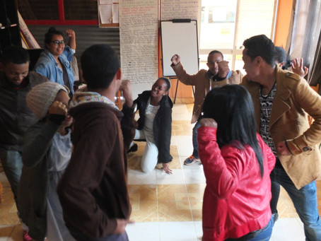 A participatory theater training strengthens our pedagogy