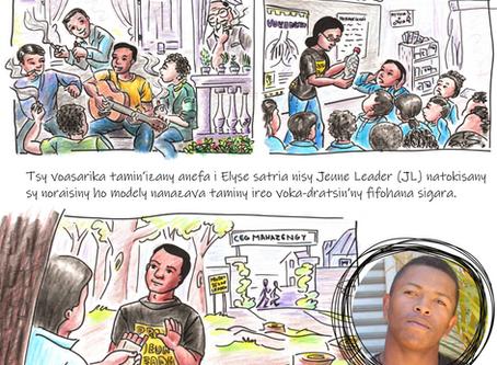 Fahaiza-mitarika sy fahatokisan-tena, antoky ny hoavy: Tantaran'i Jeunes Leaders Elyse & Rojotiana