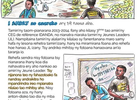 Hazo Vanon-ko Andry: Tantaran'i Jeune Leader Andry