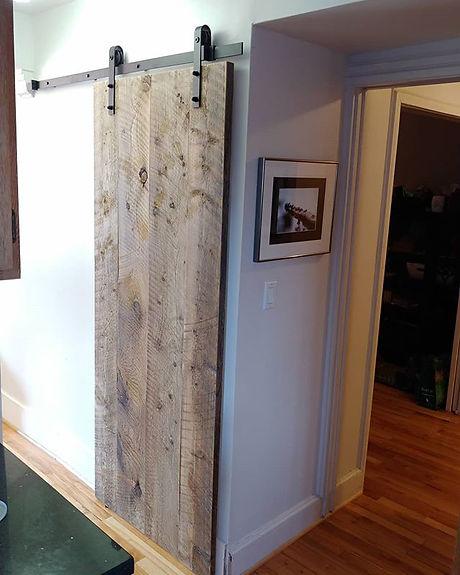 Installed a few custom rolling doors tod