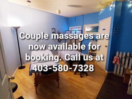 Couples' Massages