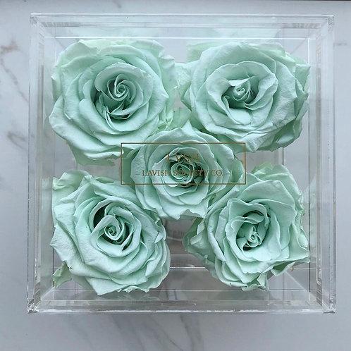 5 Rose Acrylic Drawer Box