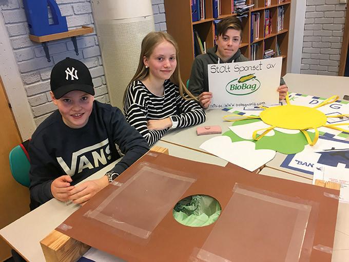 8.trinn ved Tynset ungdomsskole har jobbet fram ulike forretningsmodeller basert på temaene bioøkonomi og bærekraft. Produktene er alt fra såpe av geitemjølk til kompostsystemer for kjøkkenbenk.