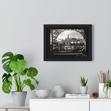 Through The Iron Lace Framed Poster