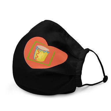 Congo Heart Face Mask