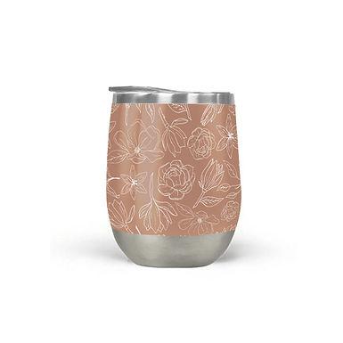 Copper Magnolia Tumbler