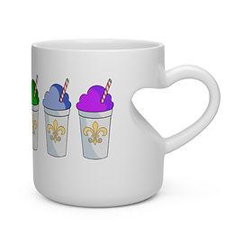 Snowball PRIDE Heart Mug