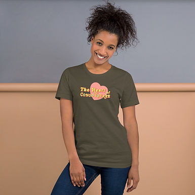 The Heart Of Congo Square Text Tee