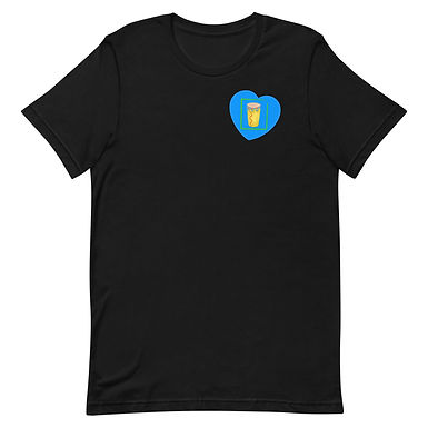Blue Heart of Congo Square Tee
