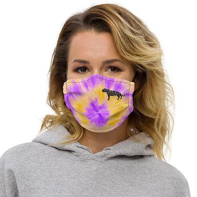 Tiger Tie Dye Face mask