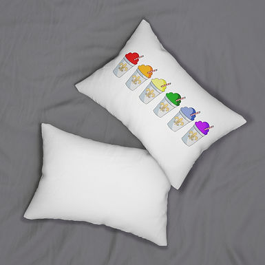 Snowball Pride Pillow