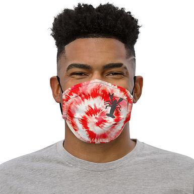 Tie Dye Crawfish Face mask