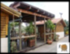 מבנה מסעדה מעץ
