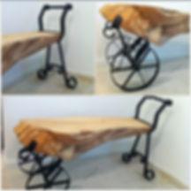 ספסל עגלה גזע ברוש