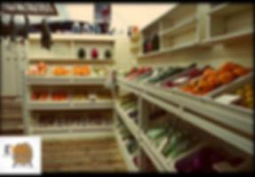 חנות ירקות אורגניים