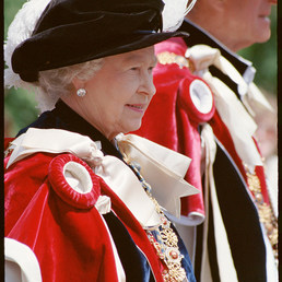 Garter Day - now in Queens collection