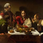 Caravaggio,Supper_at_Emmaus_Natio
