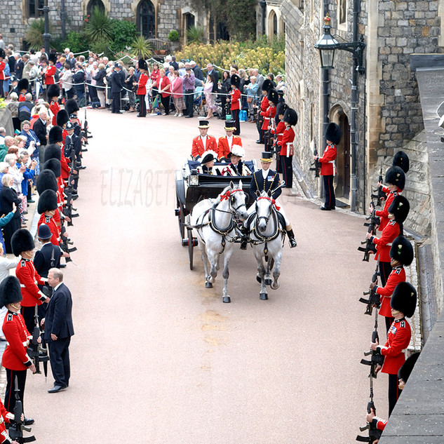 Garter Day Procession, Windsor