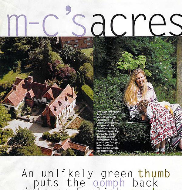 MC and her Garden