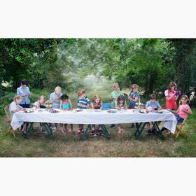 LAST SUPPER - 9 year olds gaming