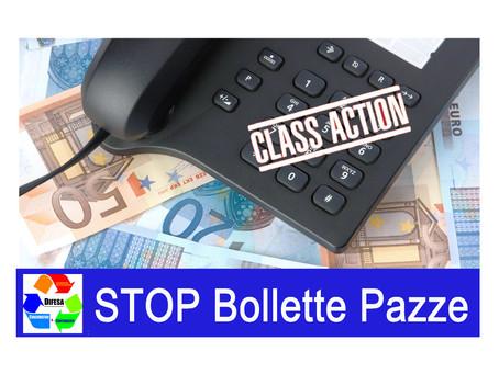 """COMUNICATO STAMPA: Stop Bollette Telefoniche """"Pazze"""", l'associazione lancia la Class Action"""
